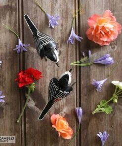 recycled metal wagtail