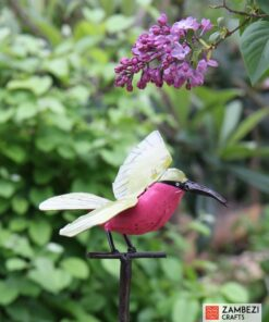 recycled metal carmine bee eater