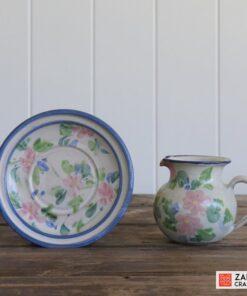 vintage crockery jug and saucer
