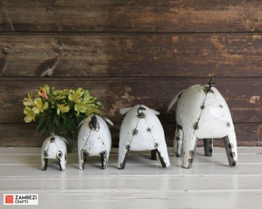recycled metal pigs